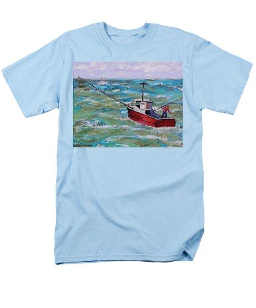Rough Sea Men's T-Shirt  (Regular Fit) by Mike Caitham