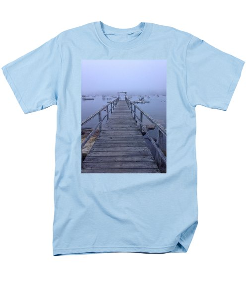 Men's T-Shirt  (Regular Fit) featuring the photograph Round Pond by Olivier Calas