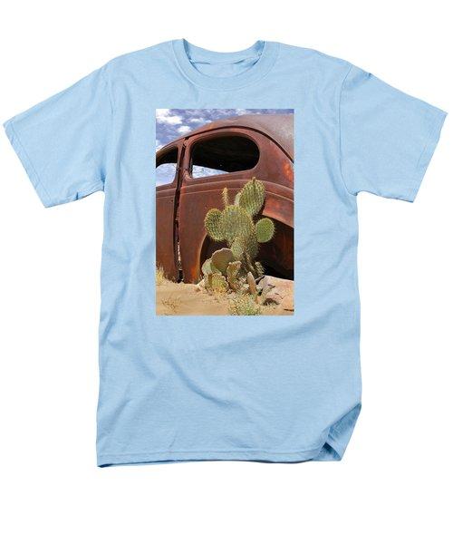 Route 66 Cactus Men's T-Shirt  (Regular Fit) by Mike McGlothlen