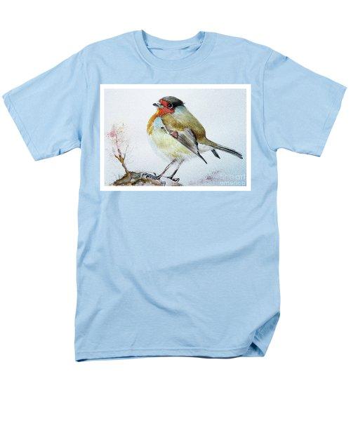 Sad Robin Men's T-Shirt  (Regular Fit) by Jasna Dragun