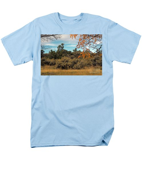 Sagebrush And Lava Men's T-Shirt  (Regular Fit) by Cindy Murphy - NightVisions