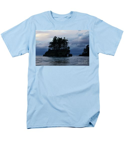 Men's T-Shirt  (Regular Fit) featuring the photograph Salt Creek At Sunset by Jane Eleanor Nicholas