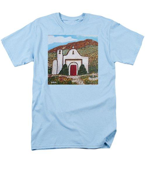 San Francisco De Asis Mission Church, Golden, Nm Men's T-Shirt  (Regular Fit)