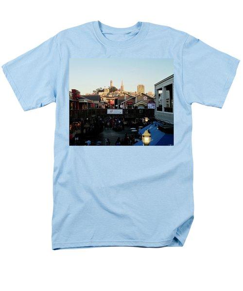 San Francisco In The Sun Men's T-Shirt  (Regular Fit) by Tony Mathews