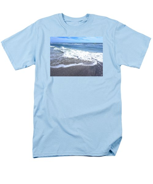 Men's T-Shirt  (Regular Fit) featuring the photograph Sand, Sea, Sun No. 1 by Ginny Schmidt