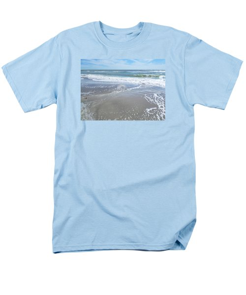 Men's T-Shirt  (Regular Fit) featuring the photograph Sand, Sea, Sun, No. 3 by Ginny Schmidt