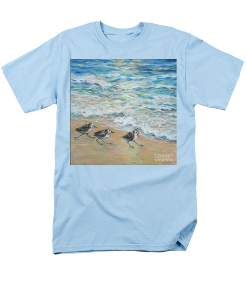 Sanderlings Running Men's T-Shirt  (Regular Fit)