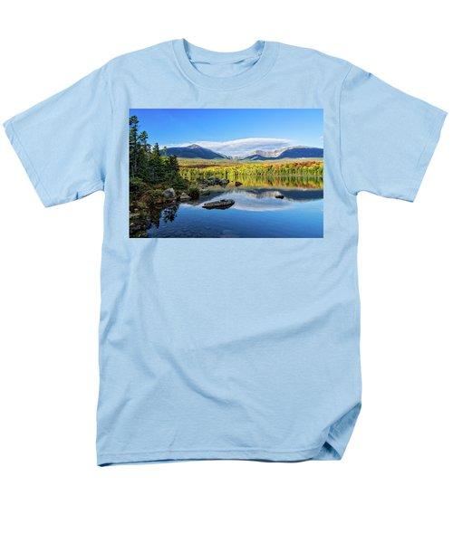 Sandy Stream Pond Baxter Sp Maine Men's T-Shirt  (Regular Fit) by Michael Hubley