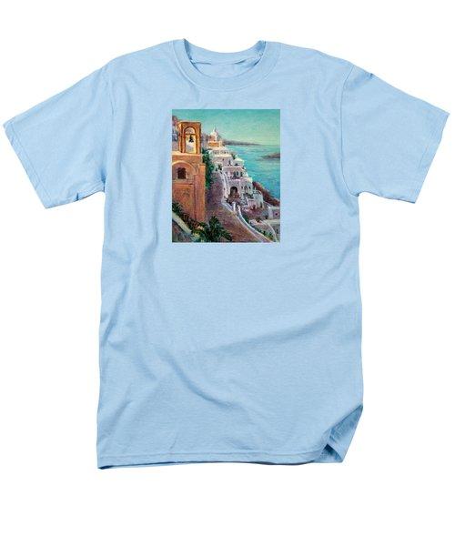 Hotels Of Santorini Men's T-Shirt  (Regular Fit)