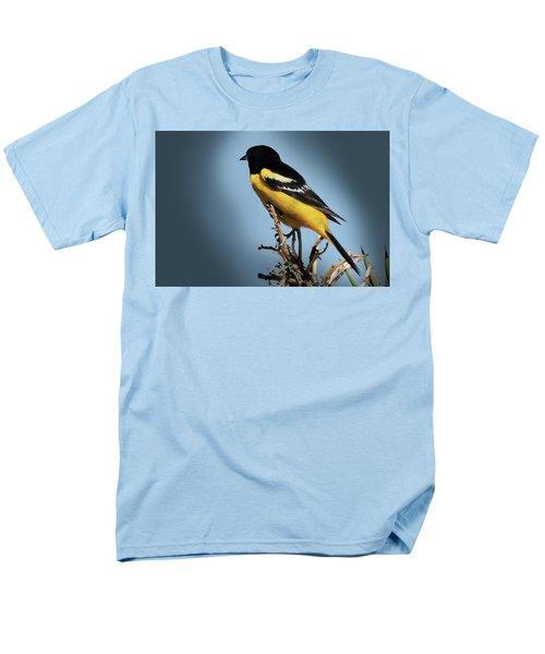 Scott's Oriole In Desert Men's T-Shirt  (Regular Fit) by Penny Lisowski