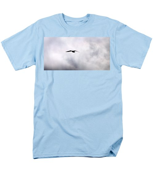 Men's T-Shirt  (Regular Fit) featuring the photograph Seagull's Sky 2 by Jouko Lehto
