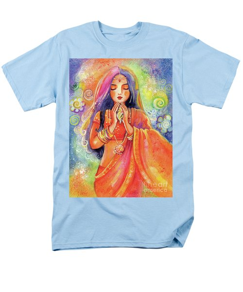 Men's T-Shirt  (Regular Fit) featuring the painting Seashell Wish by Eva Campbell
