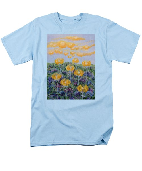 Men's T-Shirt  (Regular Fit) featuring the painting Seeing Through by Holly Carmichael