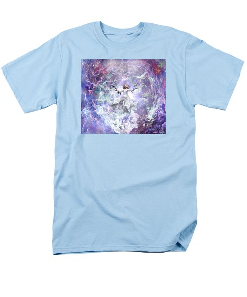Men's T-Shirt  (Regular Fit) featuring the digital art Seek And You Shall Find by Dolores Develde