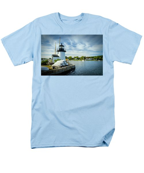 Sentinels Of The Sea Lighthouse Men's T-Shirt  (Regular Fit)