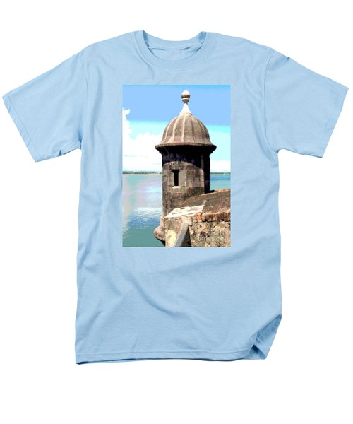 Sentry Box In El Morro Men's T-Shirt  (Regular Fit) by The Art of Alice Terrill