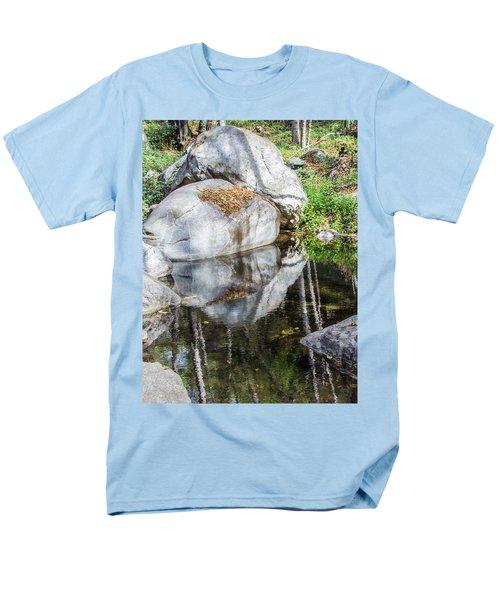 Serene Reflections Men's T-Shirt  (Regular Fit) by Ed Clark
