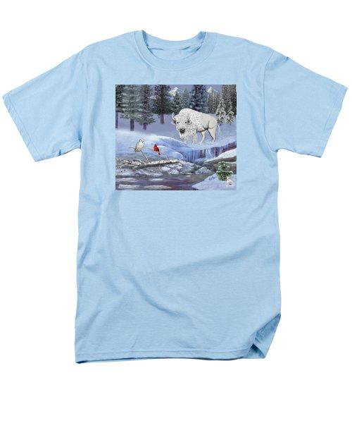 Serenity Men's T-Shirt  (Regular Fit) by Glenn Holbrook