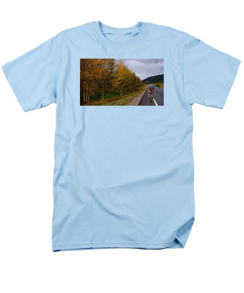 Men's T-Shirt  (Regular Fit) featuring the photograph Set Your Own Pace by Laura Ragland