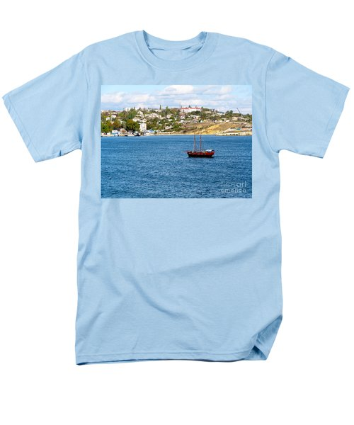 Sevastapol. Ukraine Men's T-Shirt  (Regular Fit) by Phyllis Kaltenbach