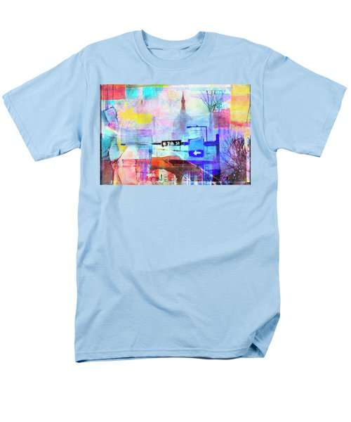 Men's T-Shirt  (Regular Fit) featuring the photograph Seventh Street by Susan Stone