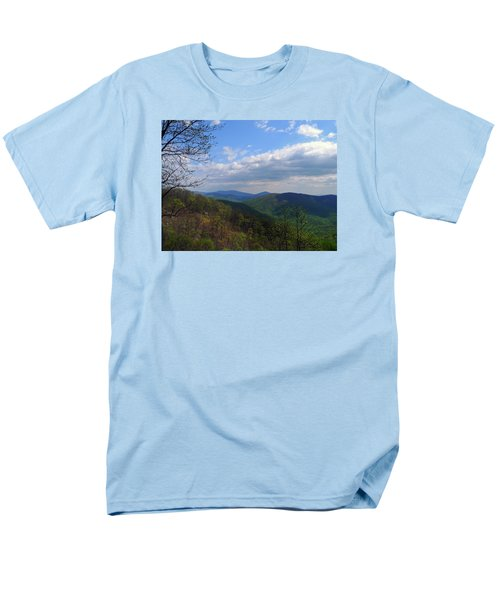 Men's T-Shirt  (Regular Fit) featuring the photograph Shenandoah Skies by Lynda Lehmann