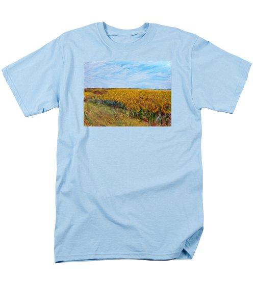 Sunny Faces Men's T-Shirt  (Regular Fit) by Helen Campbell