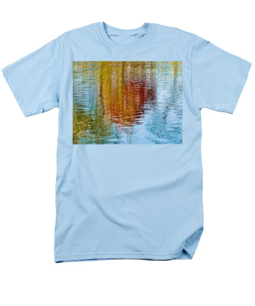Silver Lake Autumn Reflections Men's T-Shirt  (Regular Fit) by Michael Bessler
