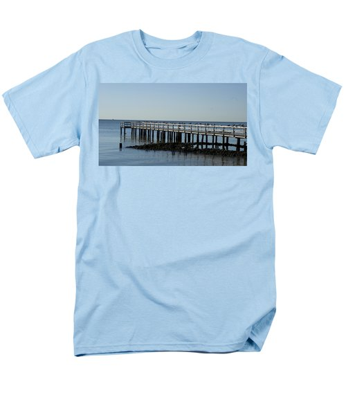 Sittin' On The Dock By The Bay Men's T-Shirt  (Regular Fit) by Charles Kraus
