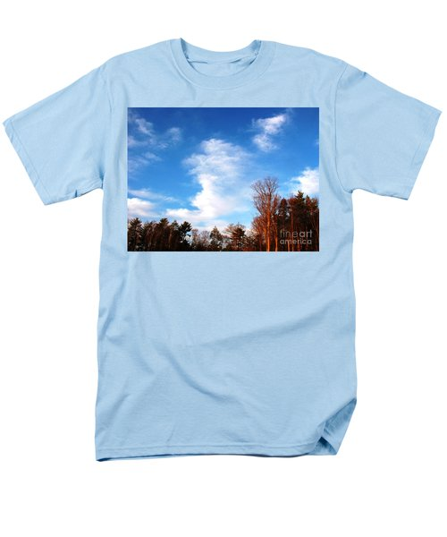 Men's T-Shirt  (Regular Fit) featuring the photograph Sky Study 1 3/11/16 by Melissa Stoudt