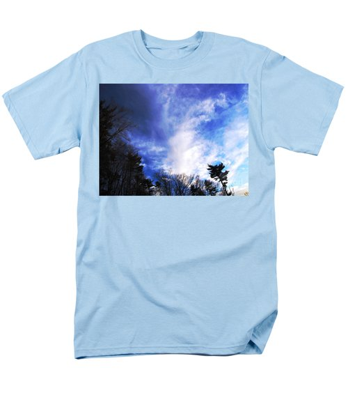 Men's T-Shirt  (Regular Fit) featuring the photograph Sky Study 4 3/11/16 by Melissa Stoudt