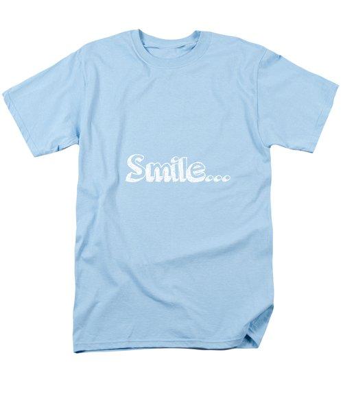 Smile Men's T-Shirt  (Regular Fit) by Inspired Arts