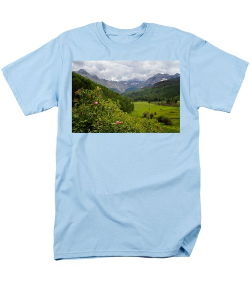 Sneffles Range Men's T-Shirt  (Regular Fit) by Lana Trussell