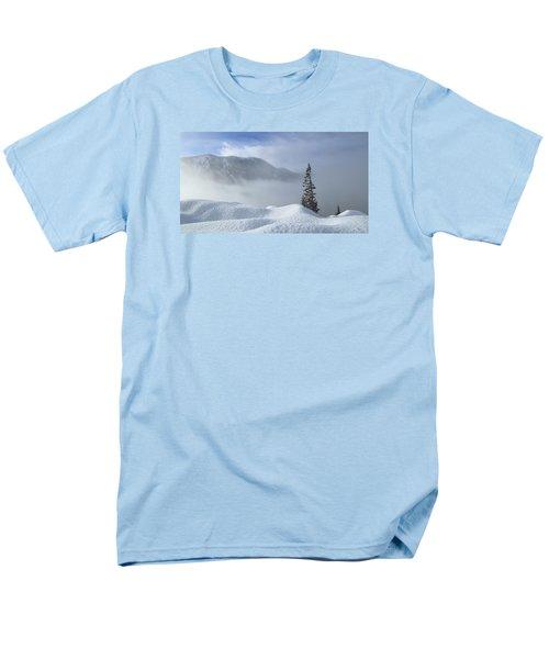 Snow And Silence Men's T-Shirt  (Regular Fit) by Lynn Hopwood