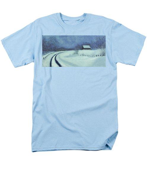 Snow Bound Men's T-Shirt  (Regular Fit) by Garry McMichael