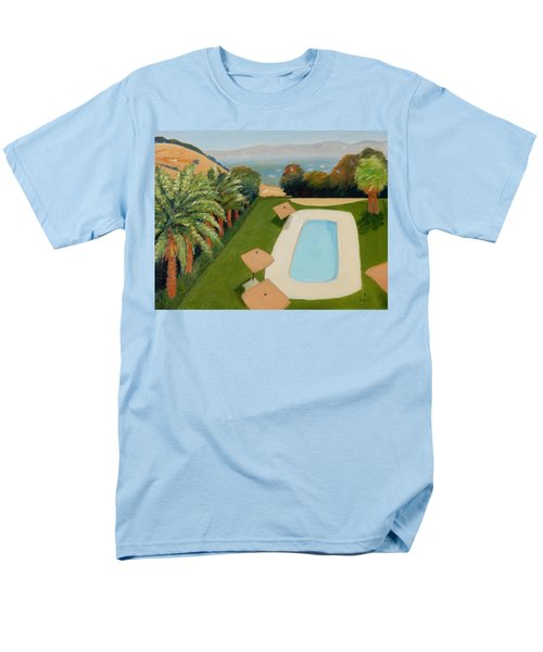 Men's T-Shirt  (Regular Fit) featuring the painting So Very California by Gary Coleman
