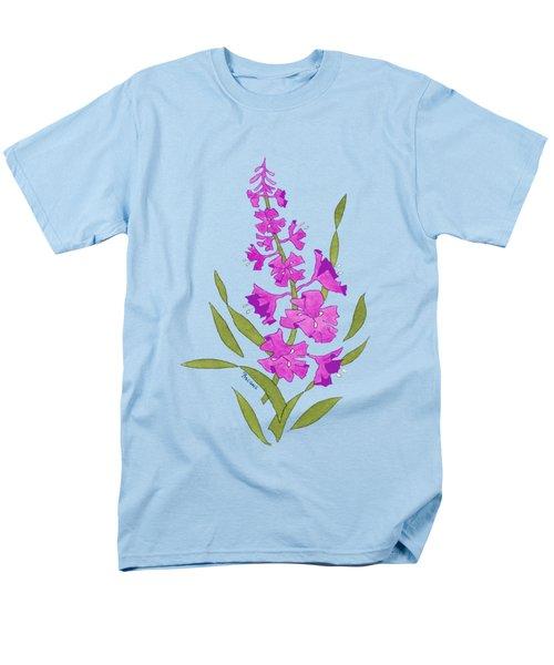 Solo Fireweed Shirt Image Men's T-Shirt  (Regular Fit) by Teresa Ascone