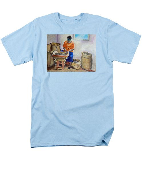 Sorting Nutmegs Men's T-Shirt  (Regular Fit) by Laura Forde