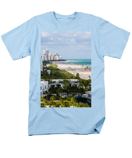 South Beach Late Afternoon Men's T-Shirt  (Regular Fit) by Ed Gleichman
