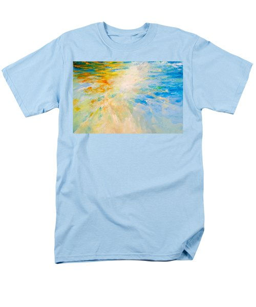 Men's T-Shirt  (Regular Fit) featuring the painting Sparkle And Flow by Dina Dargo