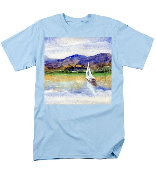 Spring At Our Island Men's T-Shirt  (Regular Fit) by Randy Sprout