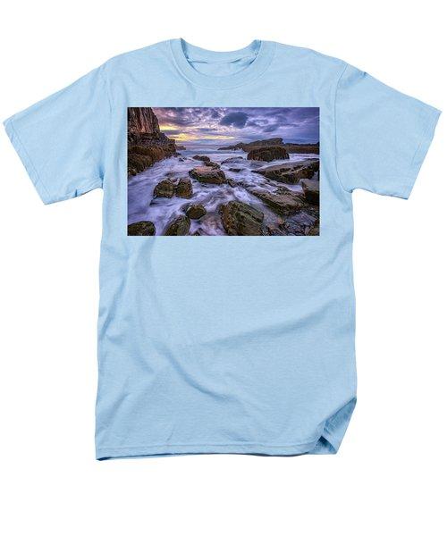 Spring Morn At Bald Head Cliff Men's T-Shirt  (Regular Fit) by Rick Berk