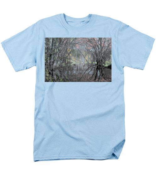 Spring On The Backwater Men's T-Shirt  (Regular Fit)