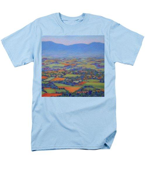 Spring Patchwork 2 Men's T-Shirt  (Regular Fit) by Bonnie Mason