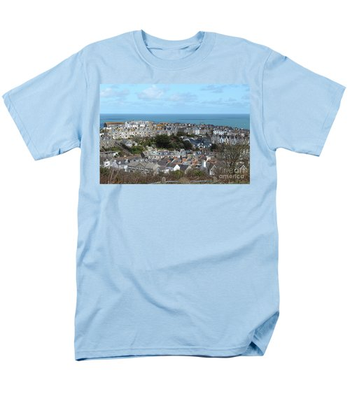 Men's T-Shirt  (Regular Fit) featuring the photograph St Ives, Cornwall, Uk by Nicholas Burningham