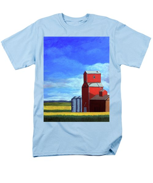 Men's T-Shirt  (Regular Fit) featuring the painting Standing Tall by Linda Apple