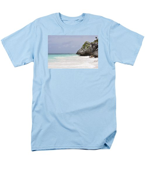 Men's T-Shirt  (Regular Fit) featuring the photograph Stone Turtle by Glenn Gordon