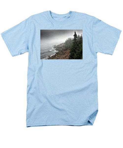 Stormy North Atlantic Coast - Acadia National Park - Maine Men's T-Shirt  (Regular Fit)