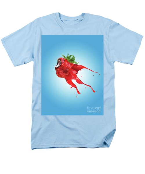 Men's T-Shirt  (Regular Fit) featuring the photograph Strawberry by Juli Scalzi