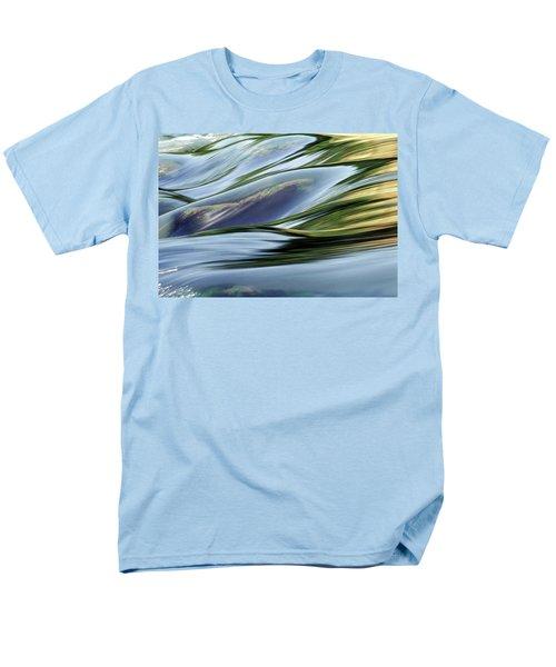 Men's T-Shirt  (Regular Fit) featuring the photograph Stream 3 by Dubi Roman